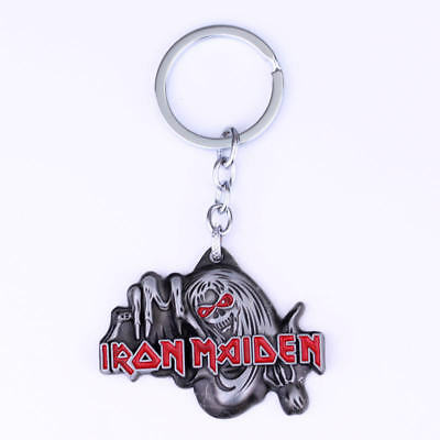 Iron Maiden Keyring. Must See..silver Coloured • 2.25£