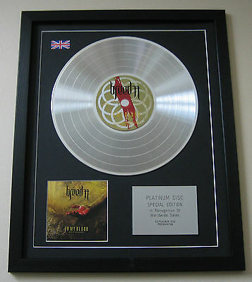 BREED 77 In My Blood CD / PLATINUM LP DISC Presentation • 89£