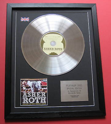 ASHER ROTH Asleep In The Bread .. CD / PLATINUM LP DISC Presentation • 89£