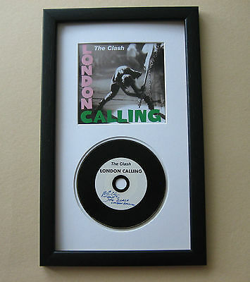 THE CLASH London Calling CD Disc Presentation • 25£