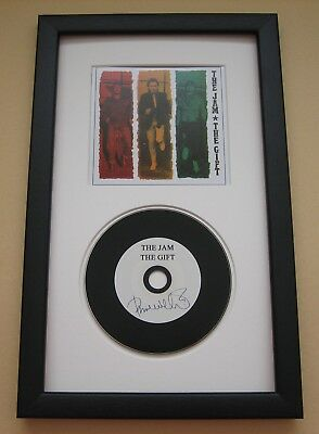 PAUL WELLER The Jam THE GIFT All Mod Cons STANLEY ROAD CD DISC PRESENTATION • 25£