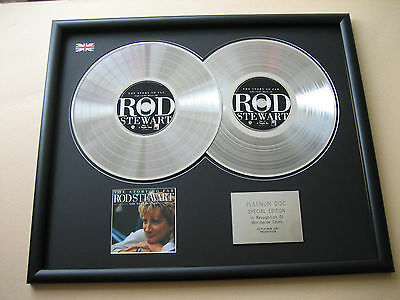 Very Best Of ROD STEWART The Story So Far DOUBLE CD DISC Platinum Presentation • 99£