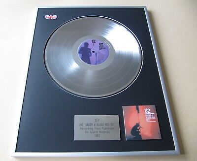 U2 Live Under A Blood Red Sky PLATINUM PRESENTATION DISC • 99£
