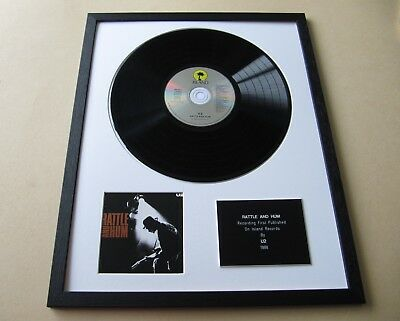 U2 Rattle And Hum CD/LP Presentation Disc • 75£