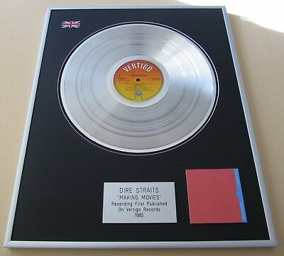 DIRE STRAITS Making Movies PLATINUM PRESENTATION DISC • 109£