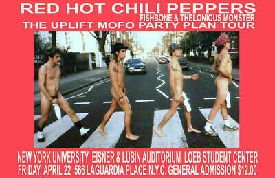 Red Hot Chili Peppers Replica 1995 Concert Poster • 9.92£