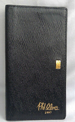 Phil Collins 1997 Tour St Dupont Rieger Genesis Leather Wallet Collector RARE • 90£