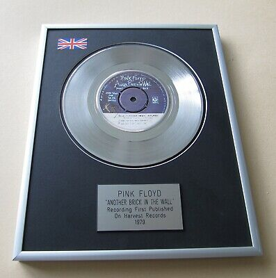 PINK FLOYD Another Brick In The Wall PLATINUM PRESENTATION DISC • 69£
