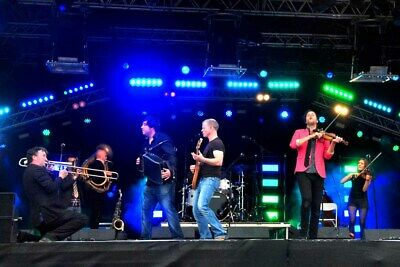 Bellowhead Folk Band Performing At Carfest Photograph Picture Poster Art Print • 41.99£