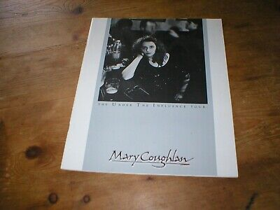 Under The Influence Tour Programme - Mary Coughlan Very Good Condition 24 Pages • 6.99£
