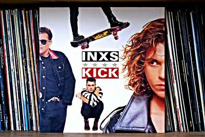 INXS Kick LP Album Front Cover Photograph Picture Art Print • 14.99£