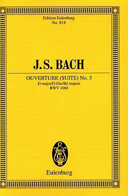 Overture Suite No. 3 Bach • 6.99£