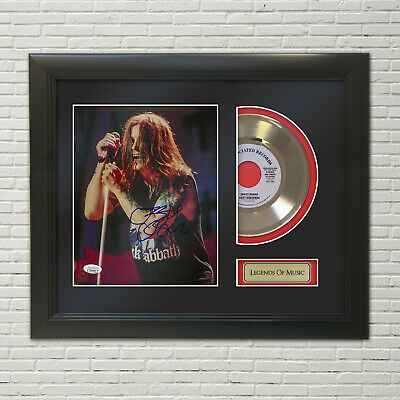 Ozzy Osbourne Reproduction Signature Framed 45 Record Display  M4  • 111.70£