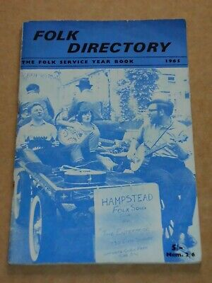 Folk Directory/Folk Service Yearbook 1965 UK Magazine • 25£