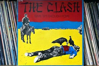 The Clash Give Em Enough Rope LP Album Front Cover Photograph Picture • 41.99£