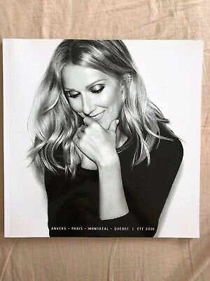 Celine Dion Summer French World Tourbook  2016 • 39£