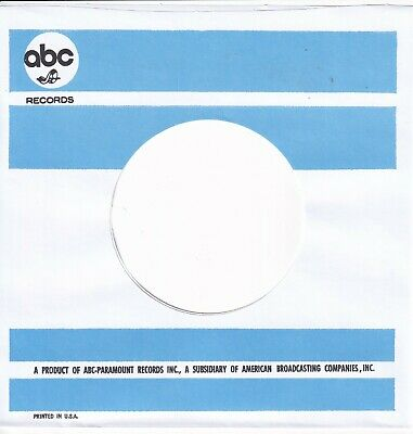 ABC USA Company Reproduction Record Sleeves - (pack Of 10)  1st ABC SLEEVE 1966  • 5.95£