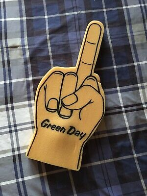 Green Day Nimrod Tour Foam Finger RARE COLLECTABLE! A++ Condition! Last Chance!! • 111.12£