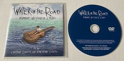 EDDIE VEDDER Water On The Road Advance Promo DVD PEARL JAM • 79.39£