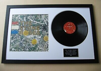 STONE ROSES The Stone Roses LP & COVER PRESENTATION DISC • 99£