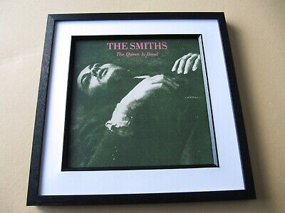 SMITHS The Queen Is Dead FRAMED ALBUM / LP COVER • 45£