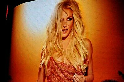 Britney Spears Neon Show Poster Las Vegas United States America USA Photograph • 41.99£