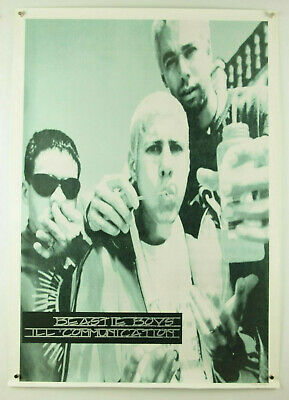 Vintage Beastie Boys Ill Communication Blowing Bubbles Black White Poster 25x35  • 46.85£