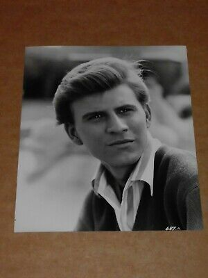 Bobby Rydell 10 X 8 1961 Agency Publicity Photo • 8£