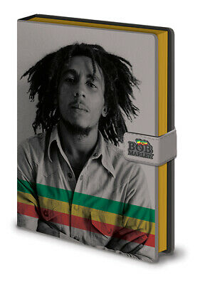 Bob Marley Notebook Photo Rasta Legend New Official Premium A5 One Size • 5£