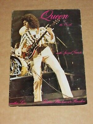 Queen  At Cardiff Castle  1976 UK Concert Programme  • 25£