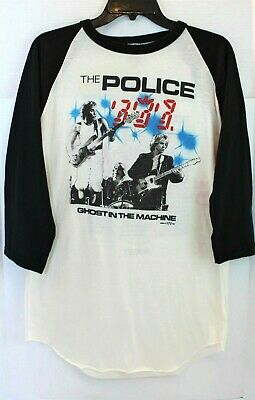 The Police 1982 Ghost In The Machine Tour Shirt Sting Stewart ~ Vintage Size XL • 96.56£