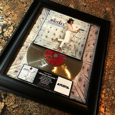 Whitney Houston WHITENY The Greatest Hits Million Record Sales Music Award Vinyl • 154.45£