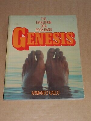 Genesis  Evolution Of A Rock Band  Armando Gallo 1978 1st Edition Soft Cover • 14£