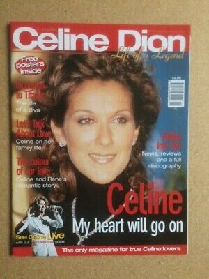 CELINE DION Original Vintage  In Profile Life Of A Legend  Magazine 1998 • 25£