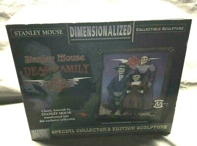 Vintage Stanley Mouse Dimensionalized Collectible Sculpture Dead Family In Box • 150.03£