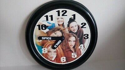 SPICE GIRLS Vintage Battery Clock – Tested & Fully Working • 25£