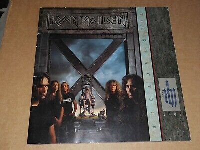 Iron Maiden  The X Factor Tour  1995 UK Tour Programme (Fully Hand Signed) • 140£