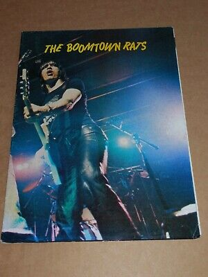 Boomtown Rats 1980 UK Poster Tour Programme  • 16£