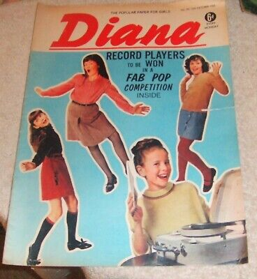 Diana Girls Magazine # 191, 15 October 1966. Rolling Stones Featured On Pop Page • 8£