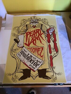 Pearl Jam Berlin 2009 MunkOne Poster Ames Limited • 225£