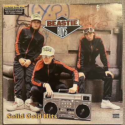 """Beastie Boys - Solid Gold Hits (2x12"""" GF LP) 2005 EU Release On Capitol • 18£"""