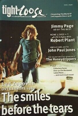 Tight But Loose - Issue 17 - Led Zeppelin Chronicle • 19.98£