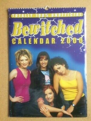 BEWITCHED Original Vintage Unofficial Calendar 2000 (SP) • 25£