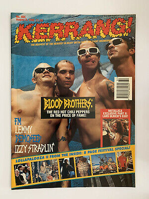 Kerrang #404 Red Hot Chili Peppers • 5£
