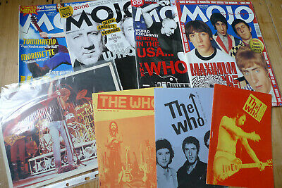 THE WHO Magazine Fanzine #22 Autumn1984 Townshend Daltrey • 4.99£