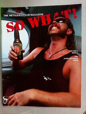 Metallica Fan Club Mag , So What Volume 2 Issue 1 • 12£