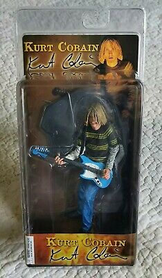 Kurt Cobain Nirvana Action Figure Neca End Of Music 2006 SEALED NEW CONDITION • 110£