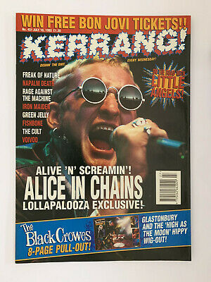 Kerrang #451 Alice In Chains • 12£