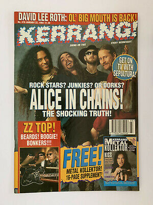 Kerrang #478 Alice In Chains • 12£