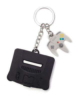 Nintendo Keyring Keychain 64 And Controller 3D Rubber New Official One Size • 7.95£
